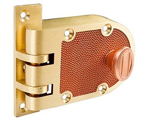 Tuff Stuff (Like Segal) Bronze US10 Solid Bronze Jimmy Proof Deadlock Deadbolt Single Cylinder Lock Set