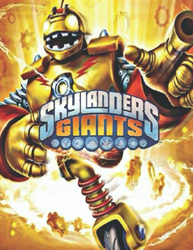 Skylanders Giants Coloring Book: Color Wonder Relaxation Coloring Books For Kids