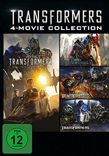 Transformers 1-4 Collection [4 DVDs]