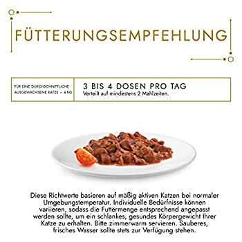 PURINA GOURMET Gold Délicatesse en Sauce Nourriture Humide pour Chat, au bœuf et au Poulet, Paquet de 12(12 x 85g)