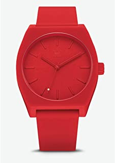 online store 1c496 7cd3c Adidas Hommes Analogique Quartz Montre avec Bracelet en Silicone Z10-191-00