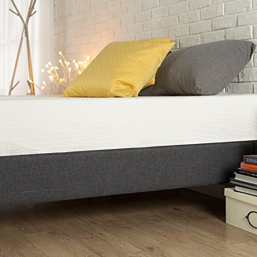 Zinus Curtis Essential Upholstered Platform Bed Frame