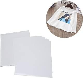 Fairmall 【50枚入れ】Tシャツ用熱転写紙 インクジェットプリンター用転写紙 ライトカラーファブリックの転写シート A4サイズ (白・淡色Tシャツ生地用)