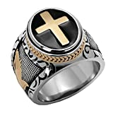 FlameReflection Stainless Steel Men Multi-Color...