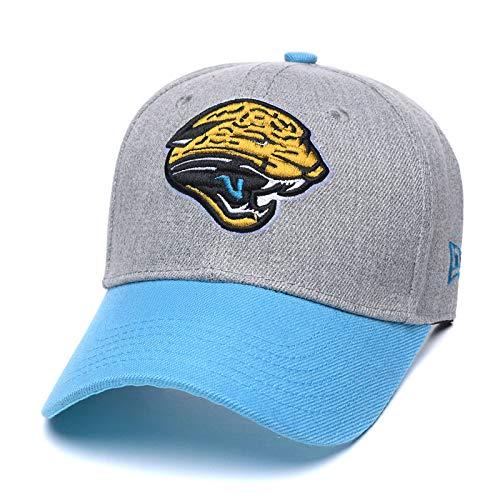 Eras edge Adult Men's Challenger Baseball Cap, Adjustable All-Star Baseball Hat (Jacksonville Jaguars)