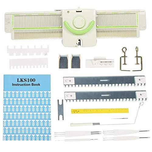 Strickmaschine, 3.9 Stiche Strickmaschine Hocheffiziente Metall-Kunststoff-Strickwerkzeuge Zubehör für Lks100 Sammelring-Überkopfstricken