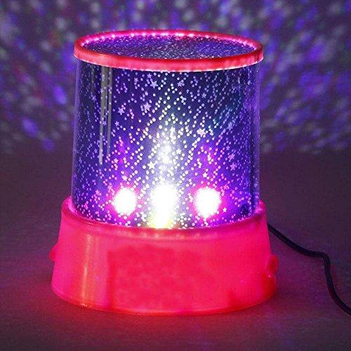 Hongfei Romántico Star Sky Night Light Proyector Increíble lámpara de iluminación nocturna para niños Niños Dormitorio Cumpleaños Navidad