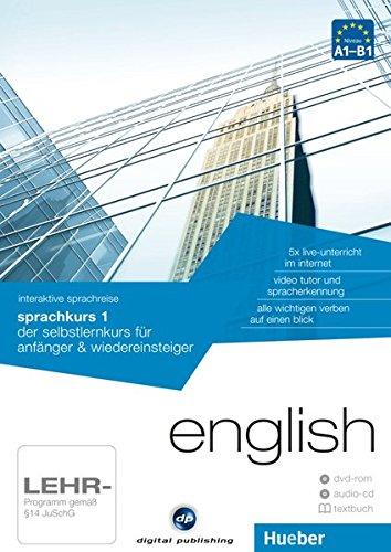 interaktive sprachreise sprachkurs 1 english: der selbstlernkurs für anfänger & wiedereinsteiger / Paket: 1 DVD-ROM + 1 Audio-CD + 1 Textbuch (Interaktive Sprachreise digital publishing)
