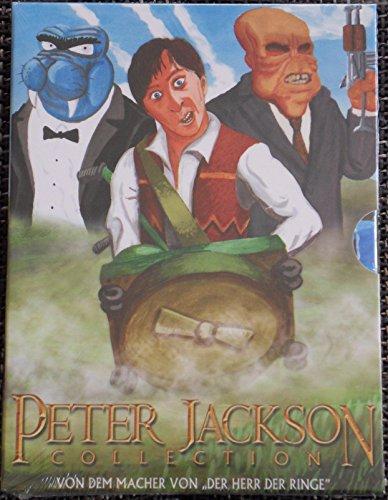 "Peter Jackson Collection ""Bad Taste-Meet the Feebles-Braindead"" Uncut"