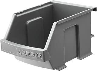 Gladiator GarageWorks GAWESB3PGC (3-Pack) Gladiator Small Item Bins, Gray