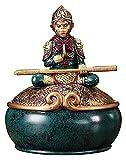 WQQLQX Statue AFFE König Sitzen Buddha Statue Skulptur Heimdekoration Zubehör Harz Dekoration Handwerk Modell Puppe Figuren Kunst Geschenke Skulpturen