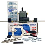 Massca Pro Aluminum Pocket Hole Jig System Set -M2 Bundle – Adjustable & Easy to Use Joinery Woodworking Tool w/Drill Bit, Hex Key Screws, Square Driver, Stop Collar & Face Clamp