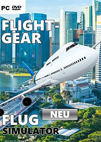 Flight Gear Flugsimulator 535 Flugzeugmodelle für Windows FlightGear Flugsimulation Inklusive NASA Spaceshuttle PC Game