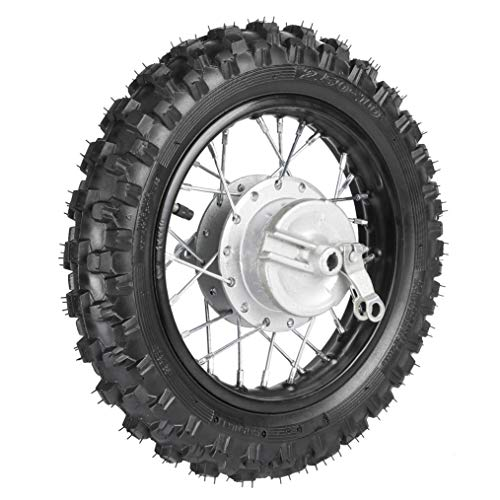 TDPRO Rear 2.5-10 10' Wheel Tire and Rim 1.4 x 10 With 12mm Bearing for 50cc CRF50 XR50 Dirt Pit Bike