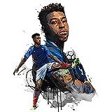 YHSM Presnel Kimpembe Sport Poster Fussball