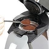 Der pure Genuss mit den permanent wiederbefüllbaren Kaffeepads in Ihrer Philips Senseo Kaffeemaschine! Seien Sie unabhängig von der Auswahl der Kaffeepads-Hersteller: Mit dem befüllbaren Kaffeepad können Sie Ihren Lieblingskaffee auch lose einfüllen....