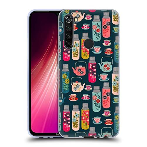 Officiële Andrea Lauren Design Thermoskan Voedsel Patroon Soft Gel Case Compatibel voor Xiaomi Redmi Note 8T