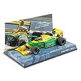☆ 【ユーロスポーツ特注】 ミニチャンプス 1/43 ベネトン フォード B192 1992 ベルギーGP ウィナー #19 M.シューマッハ 初勝利
