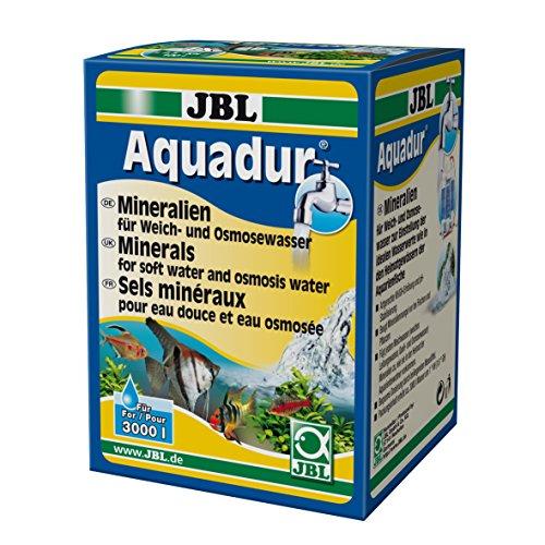 JBL Aquadur 24902 Mineralsalz-Wasseraufbereiter für Süßwasser Aquarien, 250 g