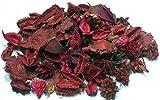 mercavip thermovip. pot-pourri profumati di fiori secchi colore rosso. formato super risparmio di 400gr