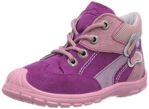 Superfit SOFTTIPPO 400324, Baby Mädchen Lauflernschuhe, Pink (DAHLIA KOMBI 74), 23 EU