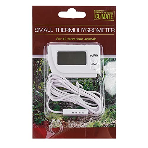 Tashido FuncióN de Memoria LCD Digital Egg Incubator Thermometer Hygrometer Remote Meter