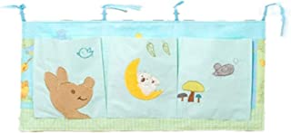 Nursery Organizer And Baby Diaper Caddy  Bed Hanging Storage Bag  Hanging Diaper Organization For Baby Essentials Closet  Color Picture Color  Size 32X70CM