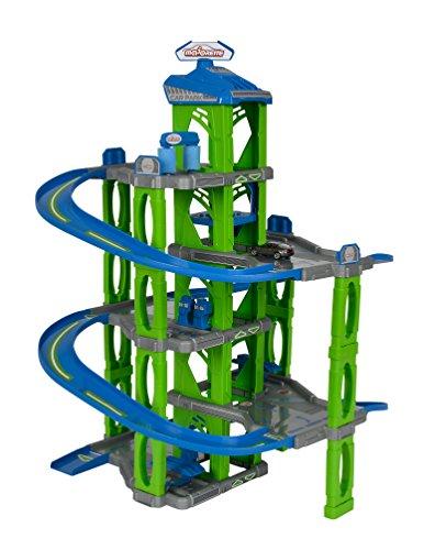 Majorette 212059996 - WOW Car Park 5 Level, Parkgarage inklusive Auto, Maße: 53 x 56 x 73 cm