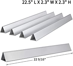 Votenli S753F(5-Pack) Stainless Steel 7536 7537 Flavorizer Bars for Weber Genesis Silver B and C, Spirit 700 Weber 900 (22 1/2 X 2 1/4