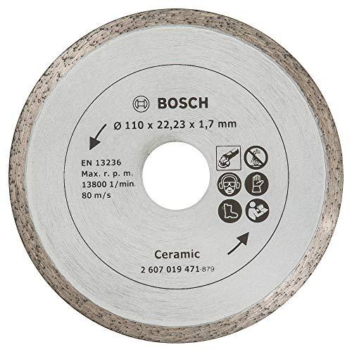 Bosch Diamanttrennscheibe für Fliesen, 110 mm, 2607019471
