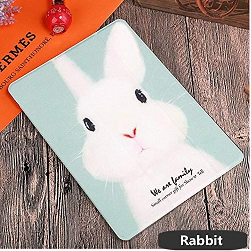 FFDD Case For iPad 10.2 2019 2020 7 8 Case iPad Air 2 Air3 Case 2018 9.7 2017 Soft Pu Leather Case for iPad Mini 5 4 3 2 1 ipad 2 3 4,rabbit,10.2 2019 (7th Gen)