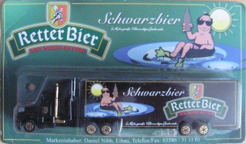 Retter Bier Nr.09 - Schwarzbier - Kenworth T800 - US Sattelzug