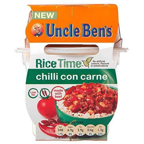 Uncle Bens Reis Zeit Chili con carne (300 g) - Packung mit 2