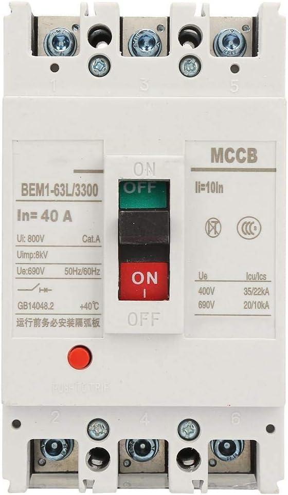 SH-CHEN Max 77% OFF Circuit Excellence Breakers BEM1-63L40A 3P Integra Breaker