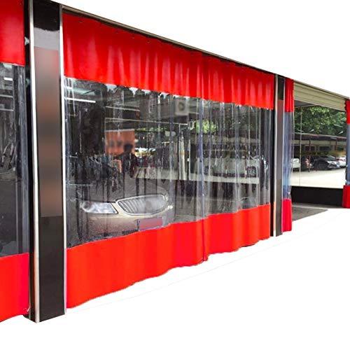 YJFENG Panel Lateral De La Tienda, Cortina De Lona Impermeable para Lavado De Autos, Cortina De Gazebo De Repuesto, Lona Revestida con Costuras De PVC De 0,5 Mm, para Garaje, Pérgola