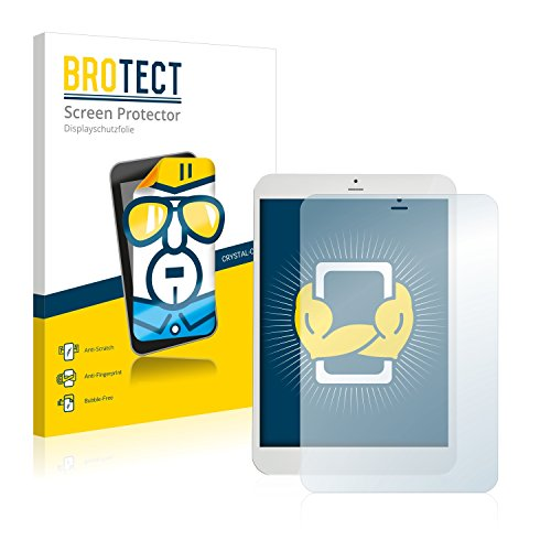 "BROTECT Schutzfolie kompatibel mit i.onik TM3 Serie 1-7.85"" (2 Stück) klare Bildschirmschutz-Folie"