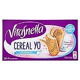 VitaSnella - Biscotti Cereal-Yo, ai cereali, con fermenti vivi e fibre - 6 confezioni da 5 monoporzioni [30 monoporzioni]