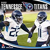 Turner Licensing Tennessee Titans 2022 Wall Calendar