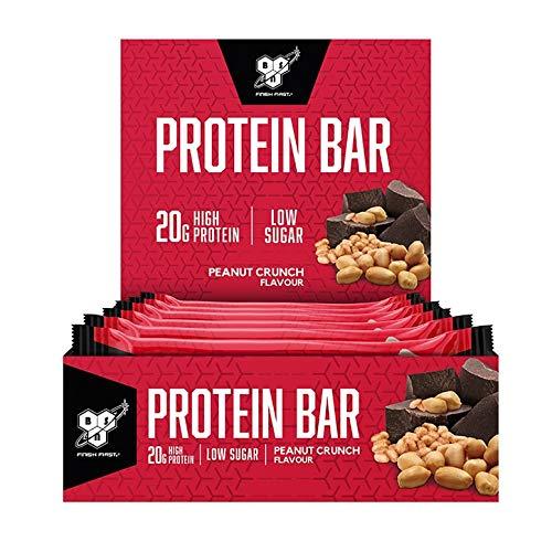 BSN Protein Bar 12 Bars Peanut Crunch