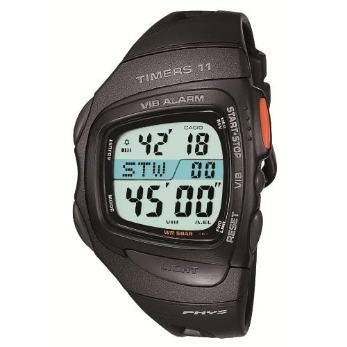 Casio Phys Timers 11 Watch RFT-100-1JF Japan Import