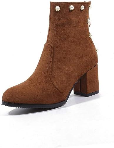 botas Altas para   botas Chelsea para  botas Cortas mujeres Ronda Martin botas