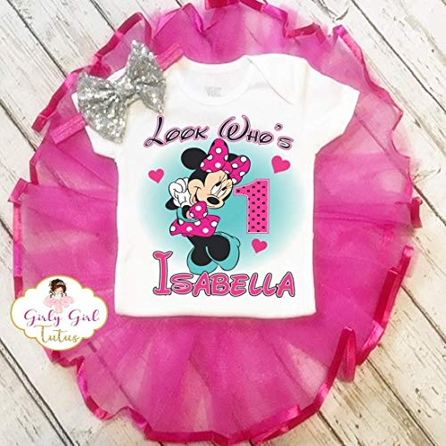 Minnie party outfit Minnie mouse birthday shirt Minnie mouse first birthday outfit Minnie mouse boys set Minnie Birthday shirt