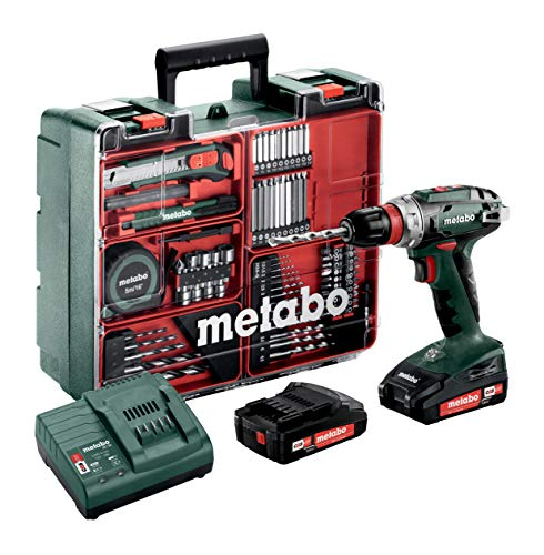 Metabo BS 18 Quick Set - cordless combi drills (Lithium-Ion (Li-Ion), Multi)