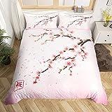 Erosebridal Cherry Blossoms Bedding Set Japanese Style...