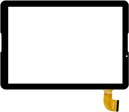 Blanc Couleur EUTOPING ® Nouveau 10.6 cm Contact écran digitizer Replacement pour 10.1