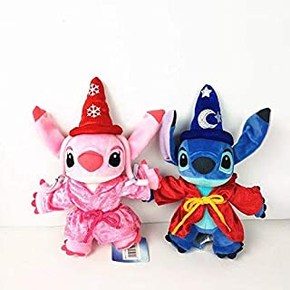 Best Quality - Movies & TV - 1set/lot Lilo and Stitch toys big Stitch Angie leroy baby style birthday gift Decorative doll collective edition cartoon toy - by Pasona - 1 PCs