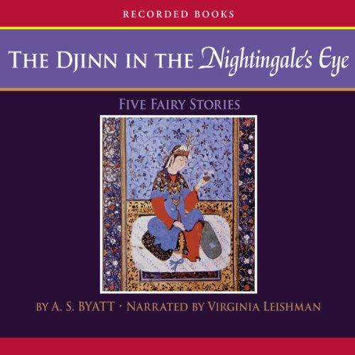 The Djinn in the Nightingale's Eye audiobook cover art