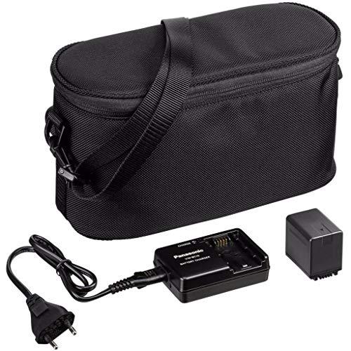 Panasonic VW-ACT380E-K Camcorder Starter-Kit mit Tasche schwarz