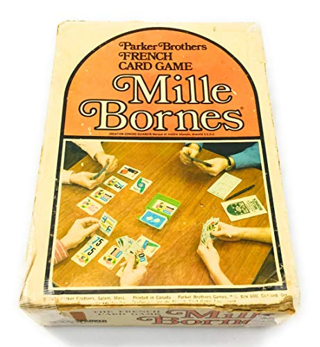 Parker Brothers French Card Game Mille Bornes  Ages 8 to Adult