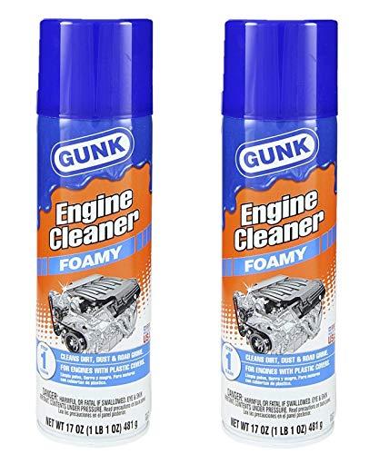 Gunk FEB1 Foamy Engine Brite Engine Cleaner - 17oz. 2 Pack